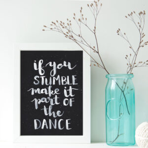 stumble-dance-print