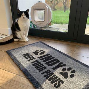 'Wipe Your Paws' Pet Doormat